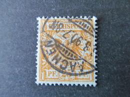 DR Nr. 49a, 1889, Gestempelt, BPP Geprüft BS - Used Stamps