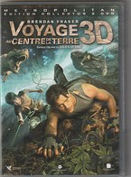DVD  2 Dvd Voyage Au Centre De La Terre 3D + Normal    Etat: TTB Port 130 Gr - Action, Adventure
