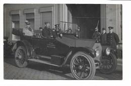 Antwerpen - Automobiel Brandweer Stad Antwerpen - Fotokaart WO 1. - Antwerpen