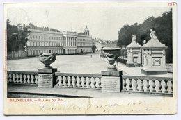 CPA - Carte Postale - Belgique - Bruxelles - Palais Du Roi (SV5952) - Monumenten, Gebouwen