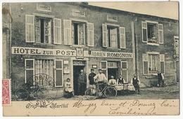 Gruss Aus Marthil Hotel Zur Post Adrien Romignon - Autres Communes