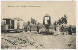 Hauterive Source Saint Ange . Beau Plan Tramway à Cheval  Edition Laplace Horse Tram - France
