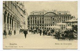 CPA - Carte Postale - Belgique - Bruxelles - Maison Des Corporations (SV5955) - Monumenten, Gebouwen