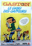 ALBUM BANDES DESSINEES PUBLICITAIRE AGFA  GASTON LAGAFFE FRANQUIN  T3 1996 (1) - Gaston