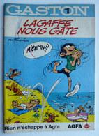 ALBUM BANDES DESSINEES PUBLICITAIRE AGFA  GASTON LAGAFFE FRANQUIN  T1 1996 (1) - Gaston