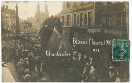 Moulins Carte Photo Fete Des Fleurs 1910 No 12 Chantecler Coq Edmond Rostand  Edit E. Larivaud - Moulins