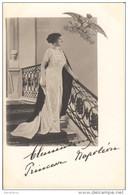 Clémentine Princesse Napoléon - Rare Avec L'Aigle Impérial- Photo ORICELLI / - Case Reali