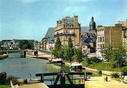 Rennes (35) : Le Quai St Cast Sur Le Canal D'Ille Et Rance - Rennes