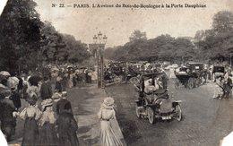 PARIS - L'avenue Du Bois De Boulogne à La Porte Dauphine - Ohne Zuordnung