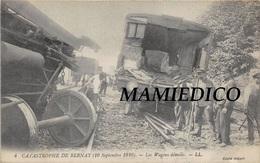 30 CP(GARES Catastrophe De BERNAY+MAISONS LAFF+VILLERSEXEL+MAISONS ALFO+METZ) Loco+Milit+Carrière+Vigne+Menhir+Fant N°36 - Cartes Postales