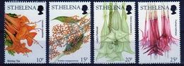 St Helena 2003 Short Set Of Stamps To Celebrate Wild Flowers. - Saint Helena Island