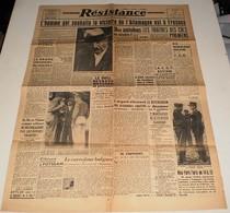 Résistance Du 2 Août 1945.(les Traites Des Cols De Pyrénéens...-Haislip-Leclerc) - Magazines & Papers
