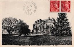 LE LION-D'ANGERS. - Château Des Faveries. Carte Pas Courante - France