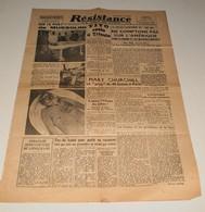Résistance Du 18 Mai 1945.(Mussolini(docs)-Mary Churchill) - Magazines & Papers