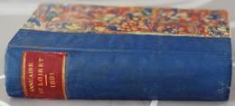 Annuaire Almanach Du Loiret Pour 1891 Jacob Michau Avec Un Plan Du Département Et Un Plan D'Orléans - Centre - Val De Loire