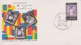 THIONVILLE Journée Du Timbre  1976 - Elsass-Lothringen