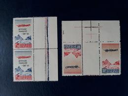 Maroc - Morocco - 1944- N° 55a + Paire Du N° 56 - Neufs ** -côte 30 Euros - Maroc (1891-1956)