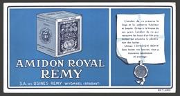 Vloeipapier / Buvard Amidon Royal Remy - Wash & Clean