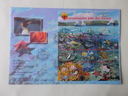 FDC : ANNEE INTERNATIONALE DE L'OCEAN - FDC
