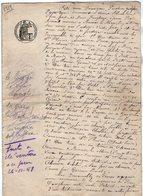 VP13.135 - Acte De 1919 - Partage Entre Mr POUGHEON à ARVANT & LEONARD à BRASSAC LES MINES & SAINTE FLORINE - Manuscrits