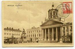CPA - Carte Postale - Belgique - Bruxelles - Place Royale - 1913 (SV5960) - Places, Squares