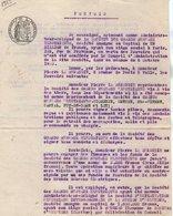VP13.136 - Acte De 1923 - Pouvoir - Entre La Société Des Grands Réseaux Electriques à PARIS & Mr LA RENAUDIE - Electricity & Gas