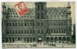 CPA - Carte Postale - Belgique - Bruxelles - La Grand Place - 1912 (SV5961) - Places, Squares