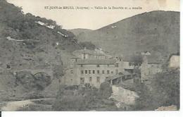 ST-JEAN-DE-BRUEL - VALLEE DE LA DOURBIE ET LE MOULIN - France