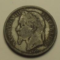 1868 - France - 2 FRANCS, NAPOLEON III, (A), Reprod. D'époque, Pas En Argent, Not Silver - Variétés Et Curiosités