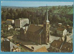 NIEDERBRONN - Vue Aérienne - L'Eglise - Citroen 2CV Peugeot 404 Autos - Niederbronn Les Bains