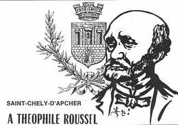 CPM Lozère Jihel Tirage Limité En 9 Exemplaires Numérotés Signés Théophile ROUSSEL Saint Chély D'Apcher - Saint Chely D'Apcher