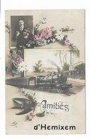 Hemiksem - Amities D'Hemixem - Fantasiekaart Met Trein. - Hemiksem