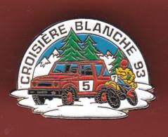 54425- Pin's.4x4 Croisière Blanche 1993.rallye Auto Moto - Rallye