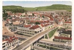 Neufchatel En Bray - Le Pont Route , Route De Rouen Et Vue D'ensemble  -  CPSM° - Neufchâtel En Bray