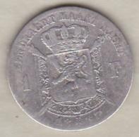 Belgique. 1 Franc 1887. Légende Flamande. Leopold II. En Argent - 1865-1909: Leopold II