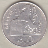 Belgique. 20 Francs 1951. Légende Flamande. En Argent - 1945-1951: Regency