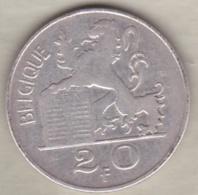 Belgique. 20 Francs 1950. Légende Francaise. En Argent - 1945-1951: Régence
