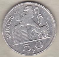 Belgique. 50 Francs 1949. Légende Francaise. En Argent - 1945-1951: Régence