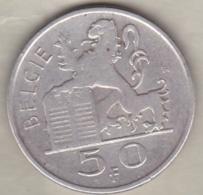 Belgique. 50 Francs 1950. Légende Flamande. En Argent - 1945-1951: Regency
