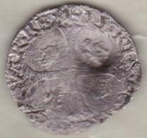 Douzain De Navarre 1590 HENRI IV. Avec Contremarque Fleur De Lys. MONNAIE COLONIALE - Emissioni Pre-Federali