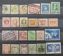 Belgique, Lot 32 Of 70+ Used Stamps, Start 1e - Sammlungen (ohne Album)