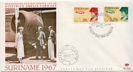 Surinam Pair FDC - Surinam