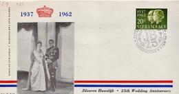 Surinam Stamp On FDC - Surinam