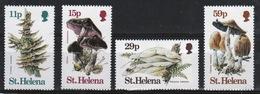 St Helena 1983 Set Of Stamps To Celebrate Fungi. - Saint Helena Island