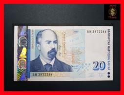 BULGARIA 20 Leva 2007  P. 118 B UNC - Bulgarie
