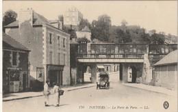 CPA POITIERS 86 - La Porte De Paris - Poitiers