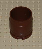 Lego Tonneau Container Brun 4x4x3.5 Ref 30139 - Lego Technic