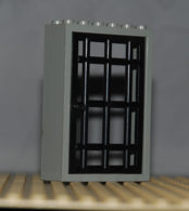 Lego Cadre Gris Ref 4071 Et Porte Noire Ref 4611 - Lego Technic