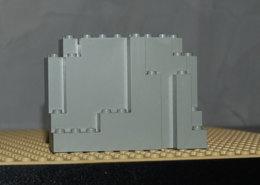 Légo Rocher 4x10x6 Gris Clair Ref 6082 - Lego Technic