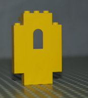 Lego Lego Panneau Mur Fenetre Jaune Ref 4444 2x5x6 - Lego Technic